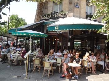 Left Bank_Saint-Germain-des-Prés_Les Deux Magots